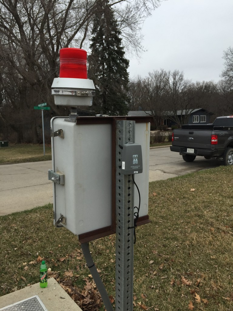 Note the AMR Radio Endpoint, Which Provides a Concurrent Read to the City's Drive-By Radio-Read System.