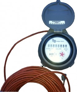 Badger HRE-MECH Meter Register.