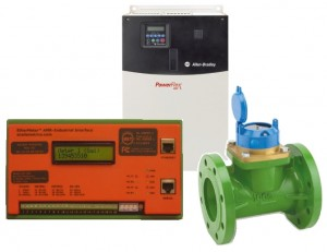 EtherMeter, VFD, and Flow Meter.