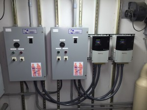Allen Bradley PowerFlex 400 VFD's - Connected to Station RTU via Modbus/RTU/485.