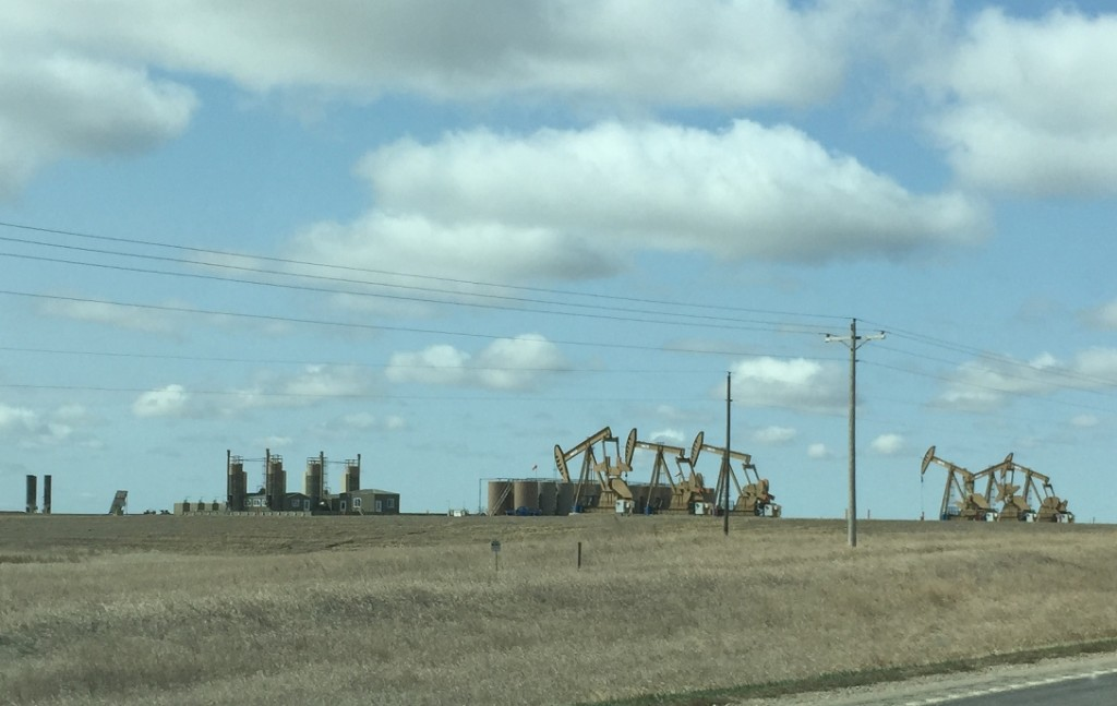 Bakken Oil & Gas Fields - In the Vicinity of Williston ND.