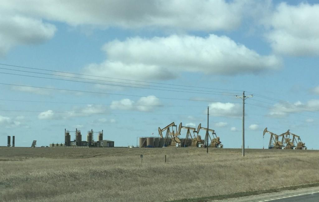 Bakken Oil & Gas Fields - In the Vicinity of Williston ND.