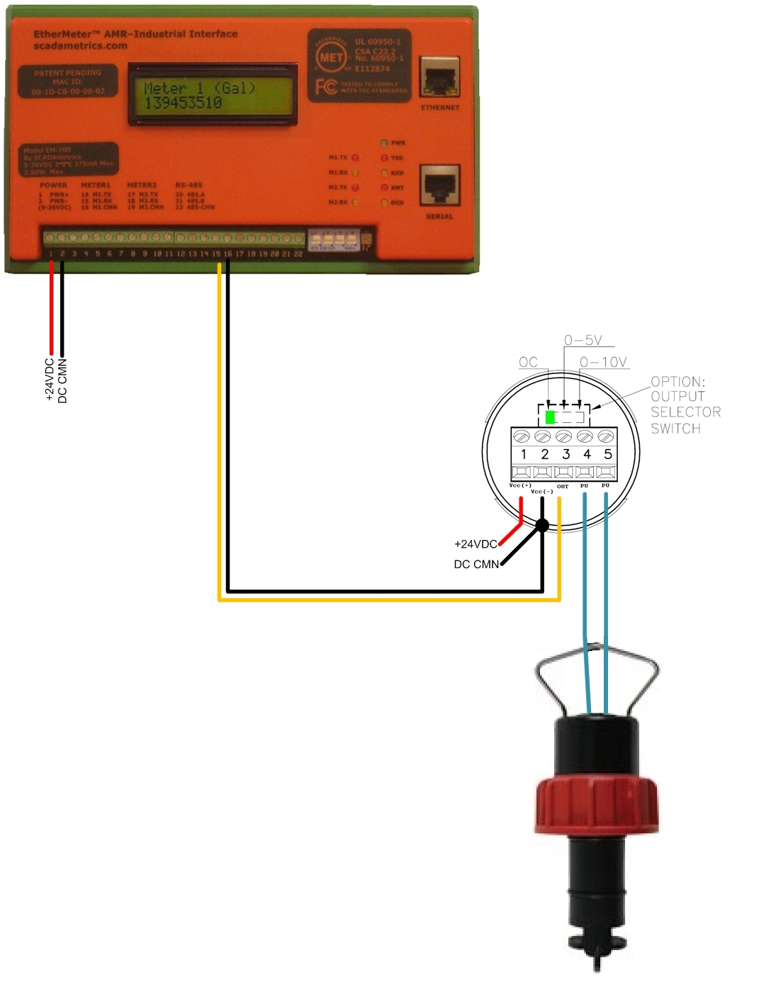 flow meter wiring diagram 25 wiring diagram images Semi Tail Light Wiring Semi-Trailer Light Wiring